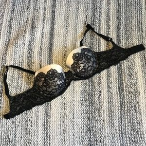 VICTORIA'S SECRET Dreams Angels Lined Demi 32D